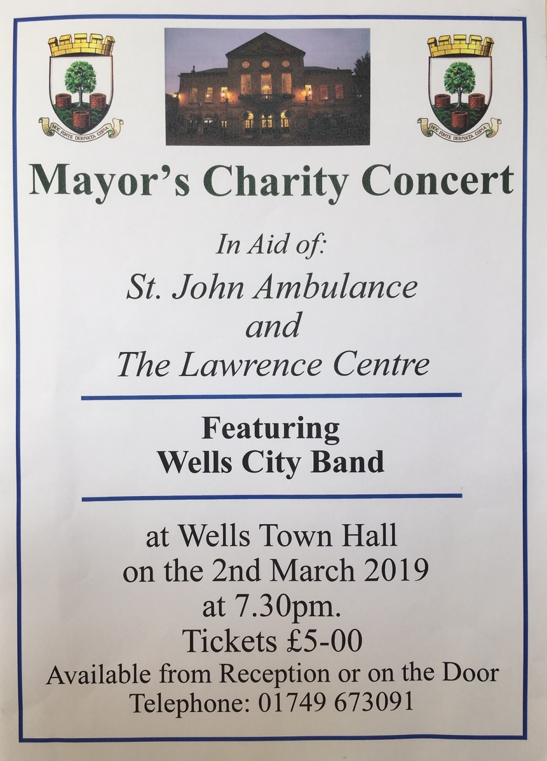 mayors concert poster 2019